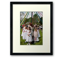 Orpington May Queen Framed Print
