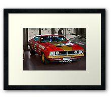 Allan Moffat City Ford replica Framed Print