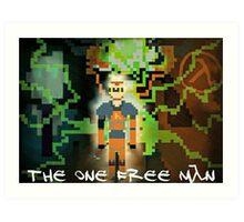"Half-Life - ""The One Free Man"" Pixl8ed Art Print"