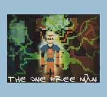 "Half-Life - ""The One Free Man"" Pixl8ed Baby Tee"
