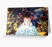 Transforming Chris Greeting Card
