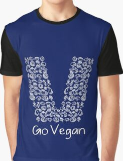 Go Vegan For Healthy Lifestyle Best Gift For Men And Women Graphic T-Shirt