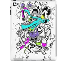 crazy word iPad Case/Skin