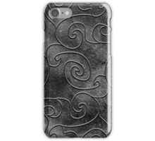 Graphite swirls iPhone Case/Skin