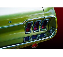 Mustang Rear (Close up) Photographic Print