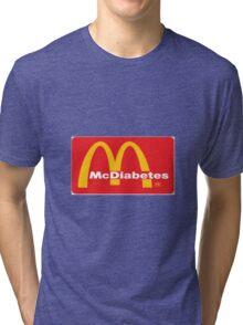 mcdiabetes - maccas, mcdonalds  Tri-blend T-Shirt