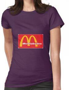 mcdiabetes - maccas, mcdonalds  Womens Fitted T-Shirt