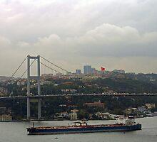 Puente del  Bósforo.   Turquía. by cieloverde