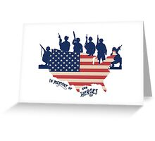 Memorial Day Apparel Greeting Card