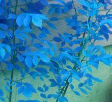 Blue Autumn Sticker