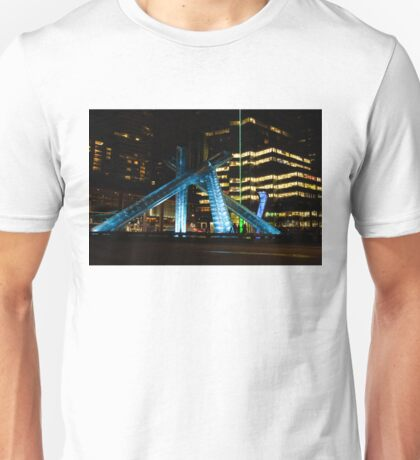 Vancouver - 2010 Olympic Cauldron Lit at Night Unisex T-Shirt