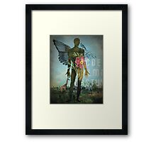 Exit to Paradise Framed Print