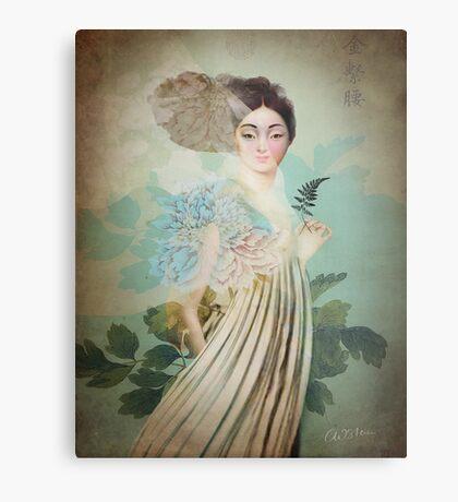 Chinese Flower Metal Print
