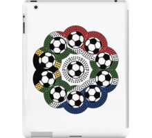 South African Football Flower iPad Case/Skin