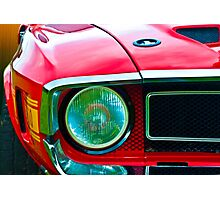 Shelby Mustang Photographic Print