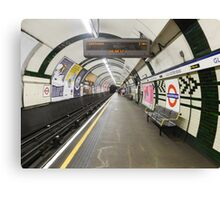 Gloucester Road Underground Canvas Print