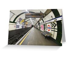 Gloucester Road Underground Greeting Card