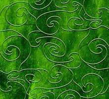 Green swirls by TatiPatti