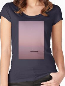 Loutro 2 Women's Fitted Scoop T-Shirt