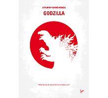 No029-1 My Godzilla 1954 minimal movie poster Photographic Print