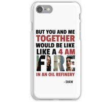 Root & Shaw - 4AM iPhone Case/Skin