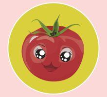 Kawaii red Single tomato Kids Tee