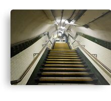 Out of the Underground Metal Print