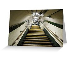 Out of the Underground Greeting Card