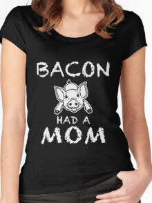 Funny Unique Bacon Have A Non T-Shirt Best Gifts For Health Conscious Men And Women Women's Fitted Scoop T-Shirt