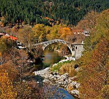 Vovoussa village - Epirus, Greece by Hercules Milas