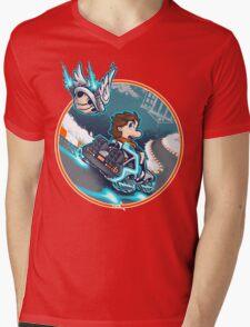 Marty Kart 88 Mens V-Neck T-Shirt
