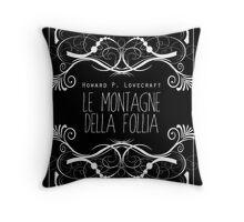 Lovecraft: Alle montagne della follia Throw Pillow
