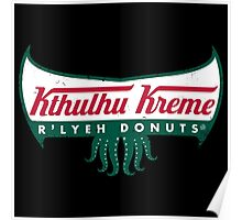 R'lyeh Donuts Poster