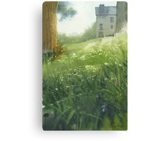 House in Morlaix Canvas Print