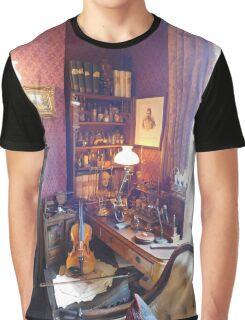 221B Baker Street Details Graphic T-Shirt