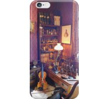 221B Baker Street Details iPhone Case/Skin