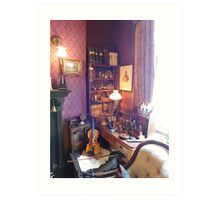 221B Baker Street Details Art Print