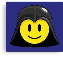 Darth Smiley (only) Canvas Print