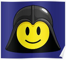 Darth Smiley (only) Poster