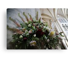 Uplifting Bouquet of Spring Flowers Canvas Print