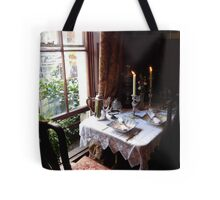 Table for two in Baker Street Tote Bag
