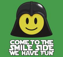 Darth Smiley - Come to the Smile Side Baby Tee