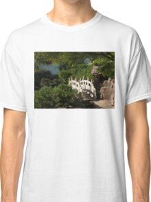 Ornate White Stone Bridge  Classic T-Shirt