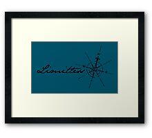 Limitless Travel Framed Print