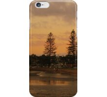 Sandgate sunset iPhone Case/Skin