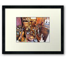 Sherlock Holmes' Study Framed Print