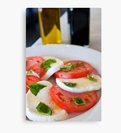 Caprese Salad Canvas Print