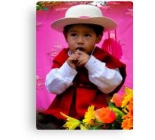 Cuenca Kids 429 Canvas Print