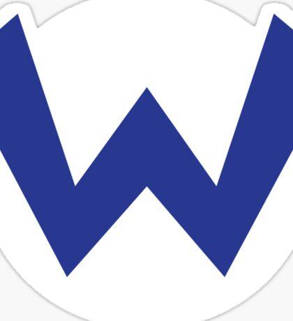 Original Wario Emblem Sticker