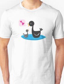 Mother love baby swan Unisex T-Shirt